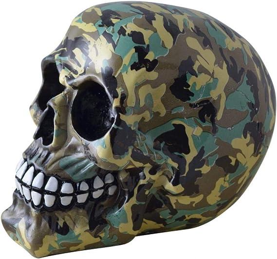 Horror-Shop camuflaje del cráneo: Amazon.es: Juguetes y juegos