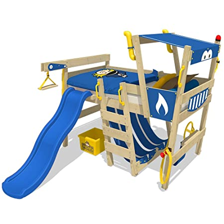 Wickey Play Bed With Slide Crazy Smoky Children Bed Loft Bed Kids
