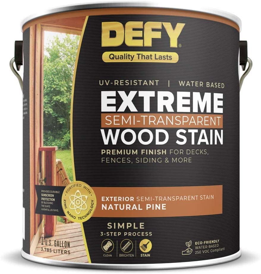 DEFY paint for outdoor wood deck