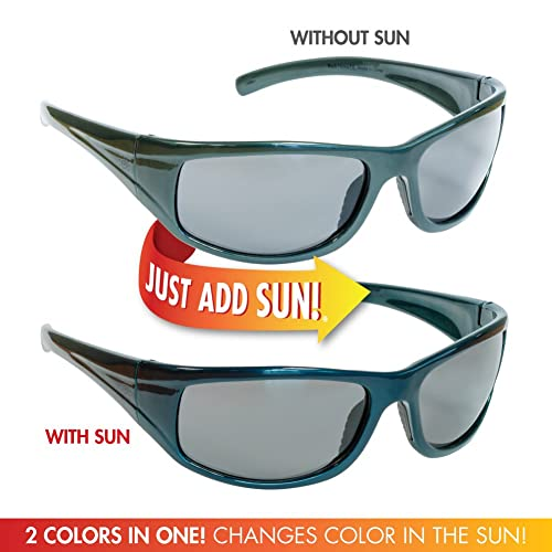 8acf46d234 Del Sol Color-Changing Men s Solize Sunglasses (Back Home - Charcoal to  Blue)  Amazon.ca  Jewelry