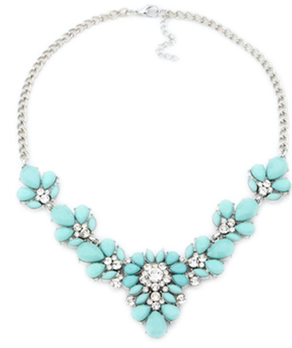 HUAYUQING Fashion Statement Necklaces /& Pendants For Women Collier Femme Vintage Necklace