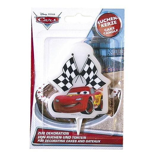 Dekoback 01 – 14 – 00737 Vela para Tartas Disney Cars 2D