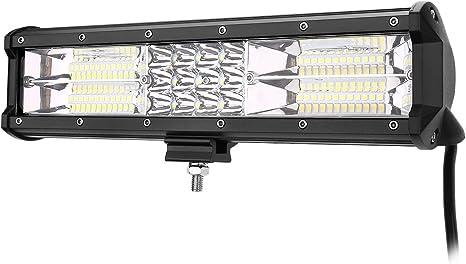LE Lighting EVER Phare LED 180W, IP67 Imperméable, Feux Antibrouillard LED, Phare de Travail Longue Portée LED pour Voiture, Tracteur, Camion, SUV,