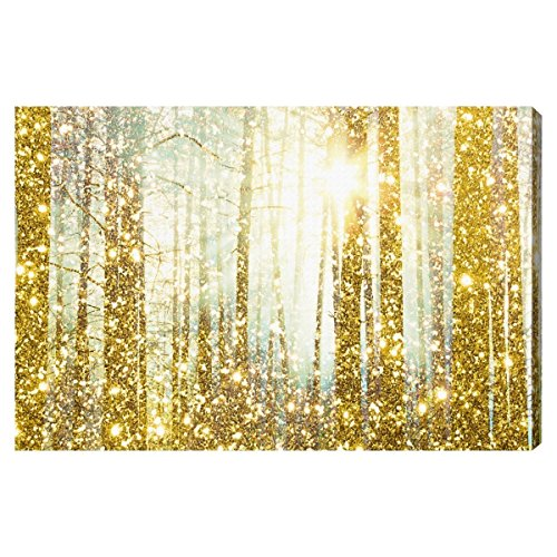 The Oliver Gal Artist Co. Magical Forest' Contemporary Canva