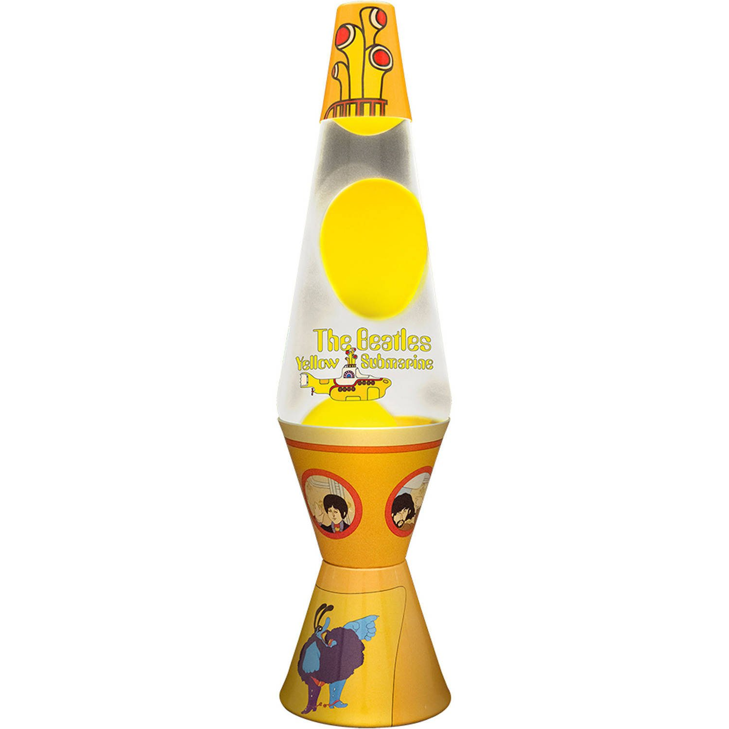 Lava lamp png - The Beatles 14 5 Inch Lava Lamp Yellow Submarine Hand Painted Featuring Album Cover Artwork Amazon Co Uk Lighting