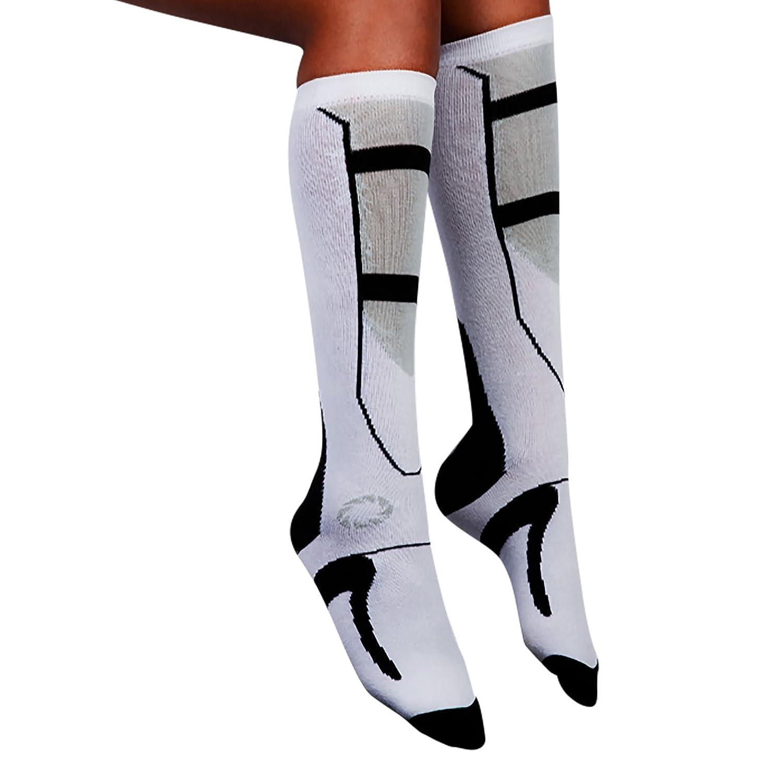 Portal 2 chaussettes pour jeu blanc noir