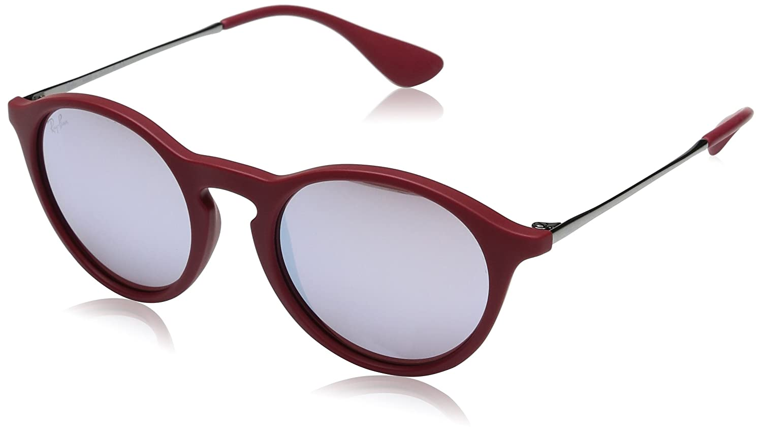 55b92c136dd0 Clothing, Shoes & Jewelry>Women>Contemporary & Designer>Accessories> Sunglasses & Eyewear Accessories> Sunglasses. price:75 ray ban justin blue  mirror ...