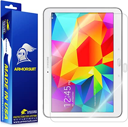 ArmorSuit MilitaryShield Samsung Galaxy Tab 4 10.1 Screen Protector Brand NEW!
