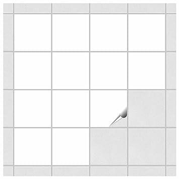foliesen pvc-freie fliesenaufkleber für bad und küche - 10x10 cm ... - Pvc Wandfliesen Küche