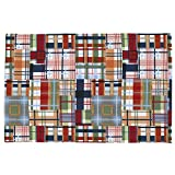 Carousel Designs Patchwork Plaid Toddler Bed Pillow Case