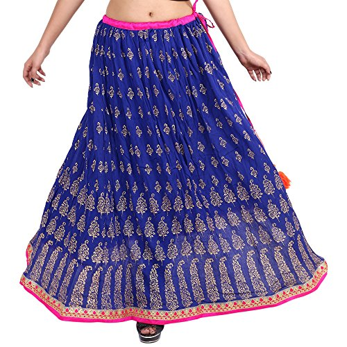Gaurangi Indian Handwork Hippy Bohemian Long Skirt, Women