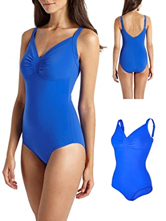 11402d897b Speedo Sculpture Watergem Swimsuit Swimming Costume Smooths Shapes &  Support: Amazon.co.uk: Clothing