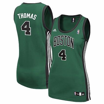 5979655f42d01 Isaiah Thomas Boston Celtics NBA Adidas Women s Green Replica Jersey ...