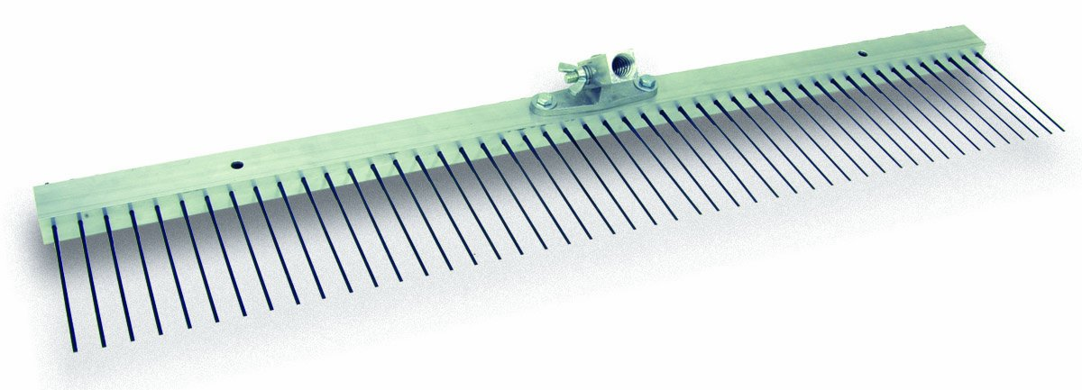 MARSHALLTOWN The Premier Line 14856 36-Inch Flat Wire Texture Broom with 5/8-Inch Spacing