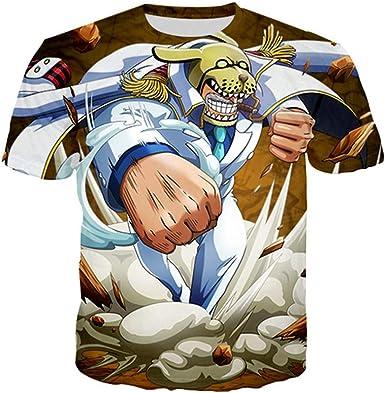 GOYING Camiseta Unisex de Manga Corta One Piece Monkey D. GARP Contenido: impresión 3D, Otaku, Juegos de rol, cómics, Dibujos Animados: Amazon.es: Ropa y accesorios