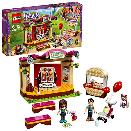 LEGO UK - 41334 Friends Andreas Park Performance Toy for Girls and Boys
