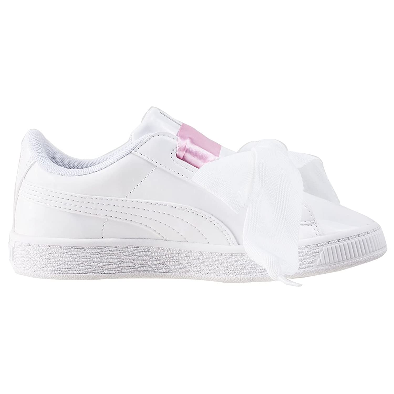 a319877fc2ac Sneakers Basses Fille Puma Basket Heart Patent PS Sneakers Basses ...