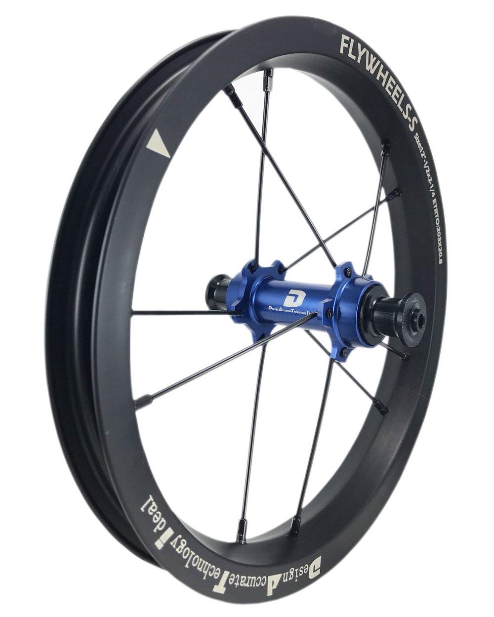 DATI 12インチ S7X-W Alloy レース レベル. 低抵抗.スムーズ.バランスバイク Kids Balance Bike Bicycle Super light 子供自転車ホイール B07DKCYJ49 KOKUA: 84*9MM|青 青 KOKUA: 84*9MM