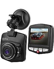 Dash Camera 2.4″ 1080P HD Car DVR Camera Dash Cam Video Recorder Night Vision G-Sensor 170° Night Vision Dual Lens Dash Cam Front and Rear Camera