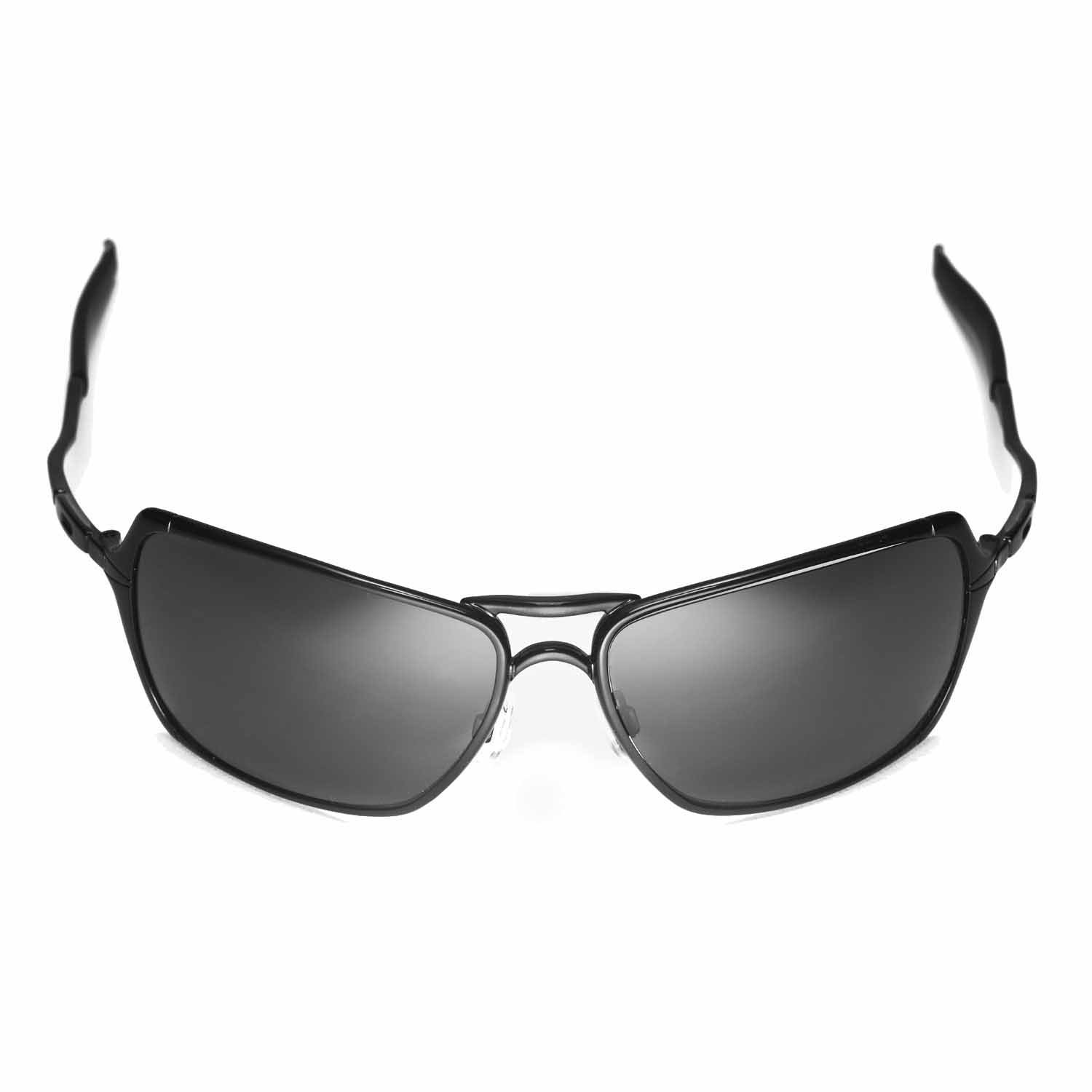 0e509b6bef Amazon.com  Walleva Replacement Lenses for Oakley Inmate Sunglasses -  Multiple Options Available (Black - Polarized)  Sports   Outdoors