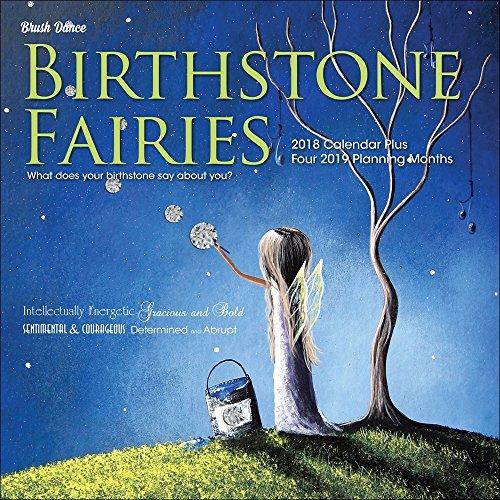 Birthstone Fairies 2018 Wall Calendar