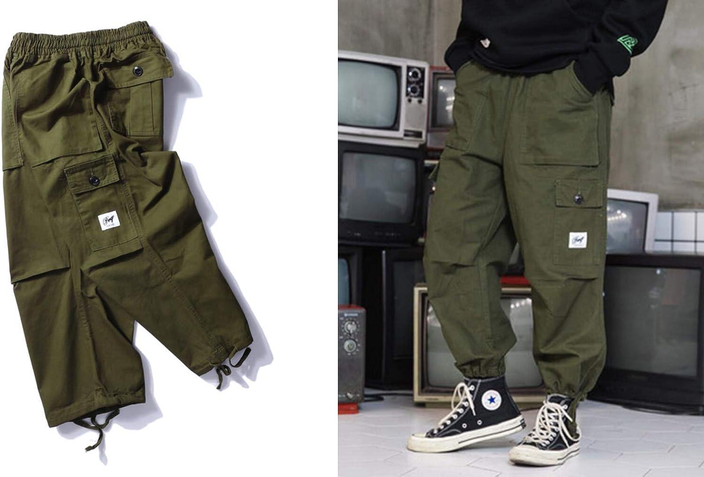 Design Originale Irypulse Unisex Cargo Pantaloni Jogger Trousers Coulisse Vita Elastica Retro Sciolto Moda Casual Trendy Hip Hop Streetwear Uomo Donna Giovent/ù Outdoor Autunno Inverno