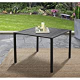 Mainstays Heritage Park 38'' x 38'' Dining Table, Matte Espresso Finish
