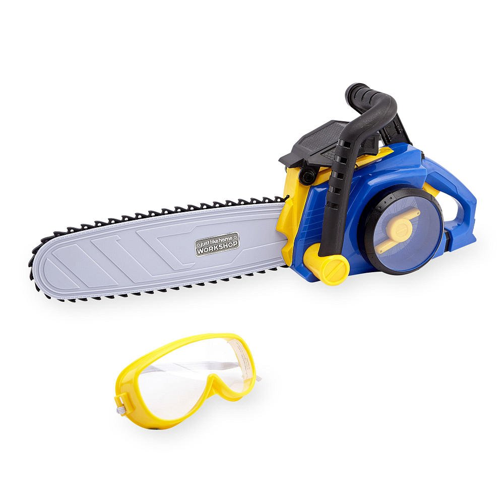 Just Like Home Workshop Power Chainsaw The Toys' R' Us
