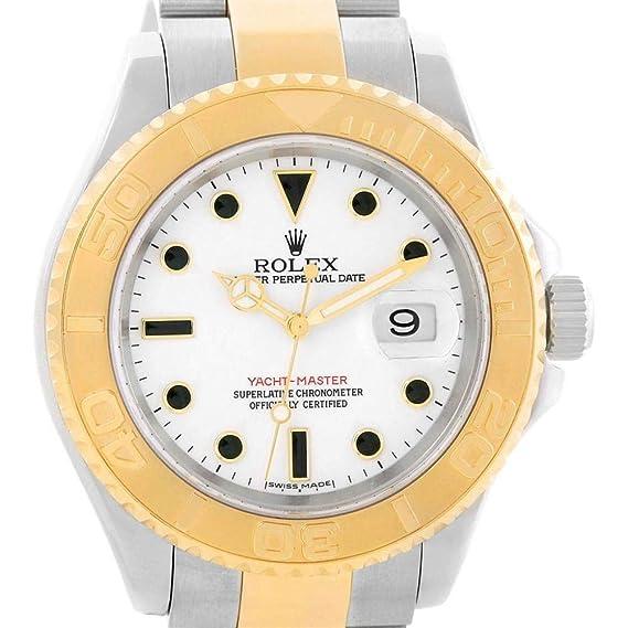 Rolex Yacht-Master 16623 - Reloj automático, diseño de Hombre: Rolex: Amazon.es: Relojes