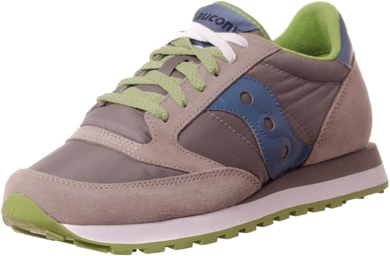 Saucony Zapatos Zapatillas de Deporte Hombres Jazz Gris