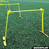 "QUICKPLAY PRO Adjustable Height: 6"", 9"" + 12"" The"