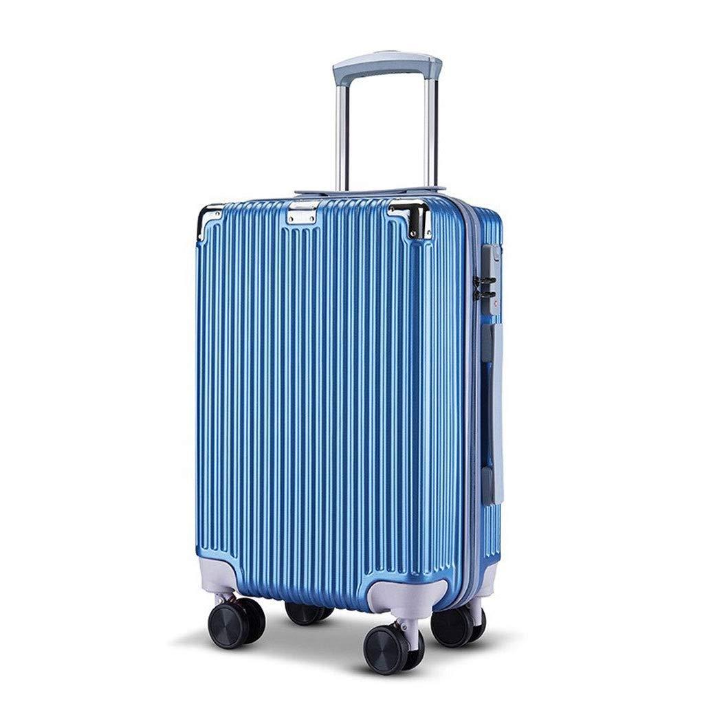 Amazon.com: FJZ Suitcase Maleta Trolley Maleta Mute Ruedas ...