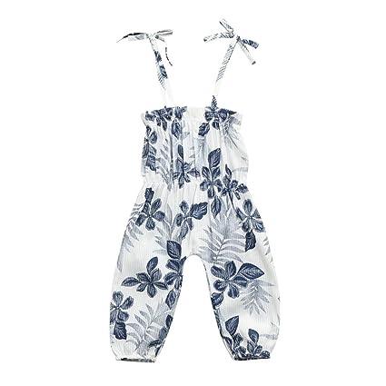 58c27fdaae44 Amazon.com  Ankola Girl s Summer Jumpsuit