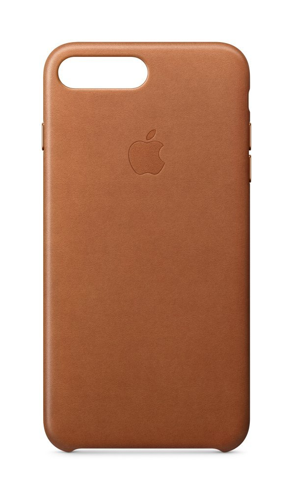 Apple Leather Case (for iPhone 8 Plus / iPhone 7 Plus) - Saddle Brown - MQHK2ZM/A