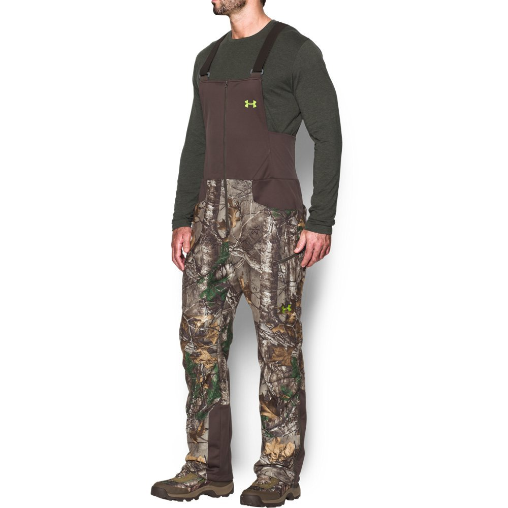 e60d6fa4bebcd Amazon.com : Under Armour Men's Stealth Fleece Bib : Clothing