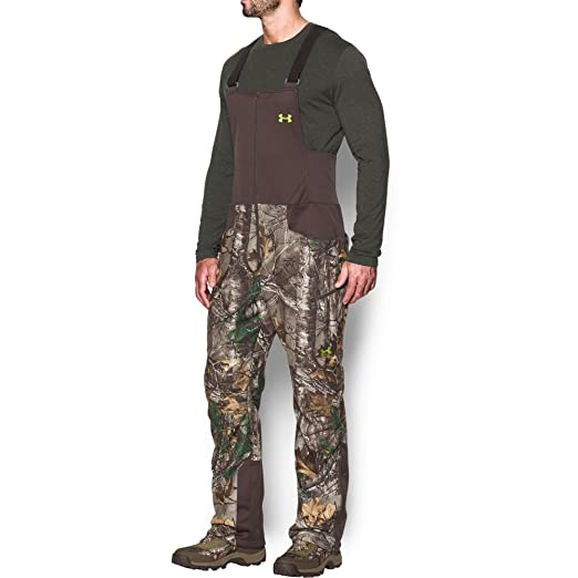 29785ca2397b4 Under Armour Men's Stealth Fleece Bib, Realtree Ap-Xtra (946)/Velocity