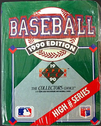 1990 Upper Deck High Number Series Baseball Factory Set - 100C