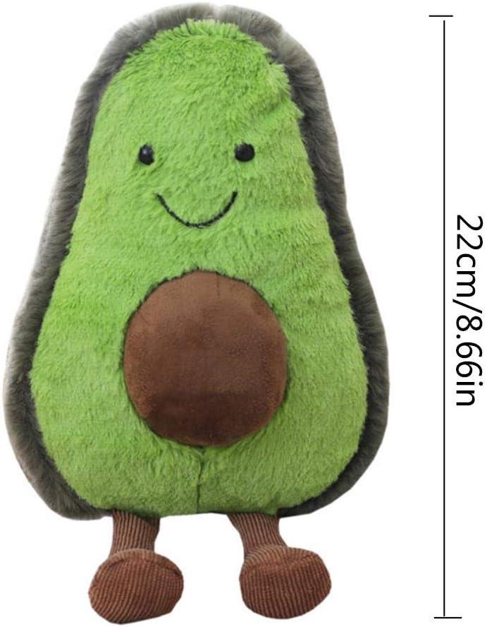 Jouet En Peluche Poup/ée Avocat Avocat Jouet En Peluche Fruit Innovant Adapt/é Aux Oreillers Canap/és Lits Hangarone Oreiller En Peluche Avocat