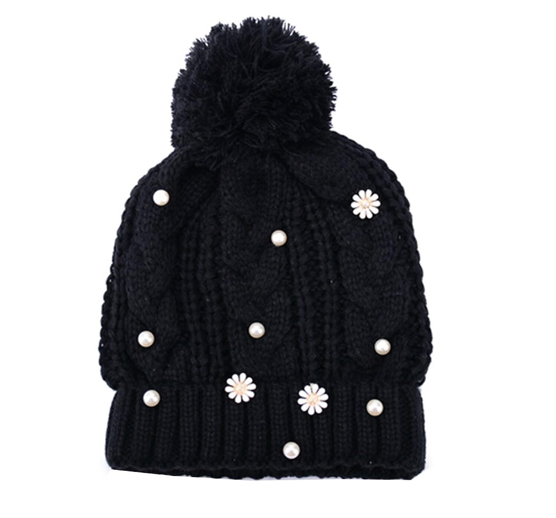 Km Women Fashion Boyish Warmth Hat Autumn Cap Ball Beanie Cap