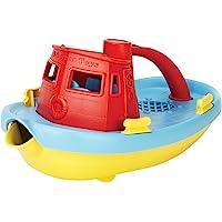 Green Toys My First Tugboat, Rojo, Tamaño