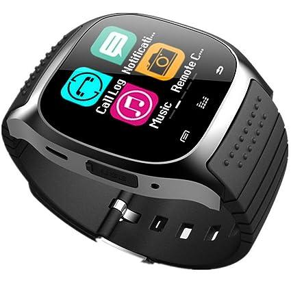 M26 Smart Watch Bluetooth, 1,4 Pulgadas TFT Pantalla ...