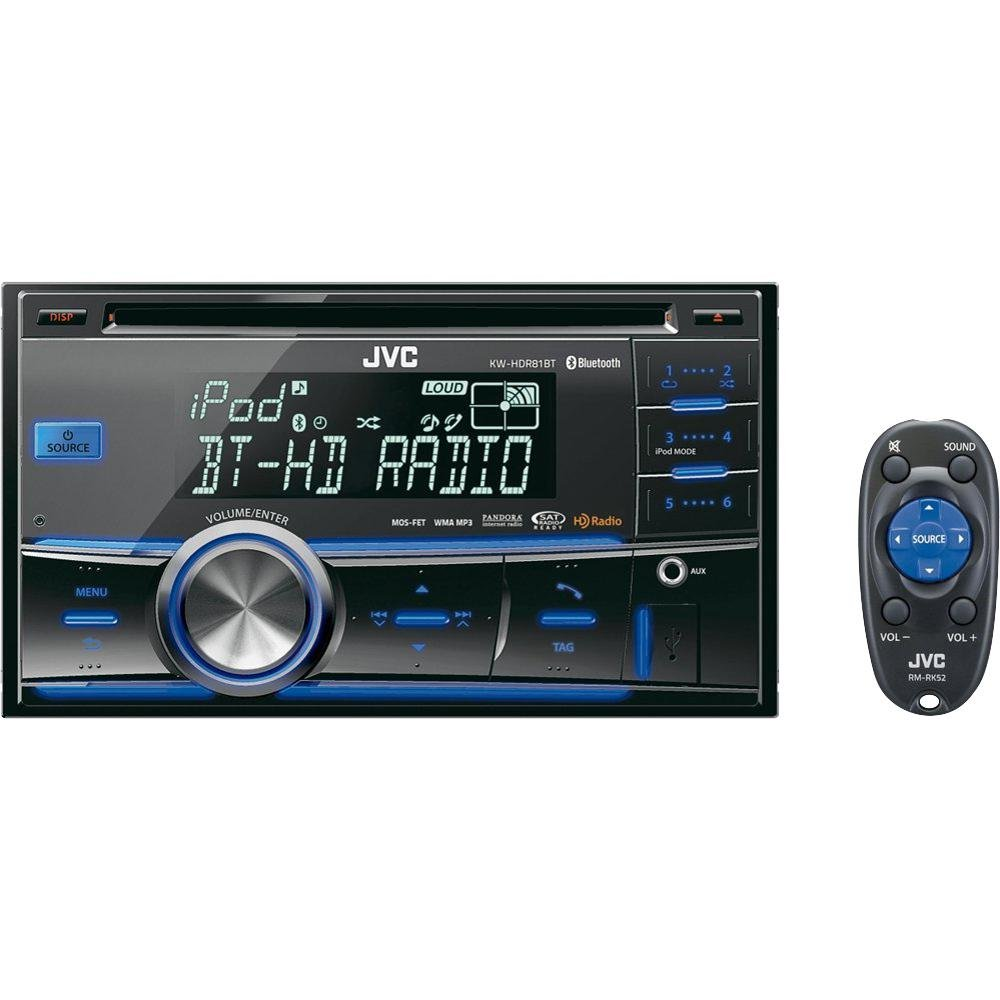 jvc kw hdr81bt reviews best double din car stereo. Black Bedroom Furniture Sets. Home Design Ideas