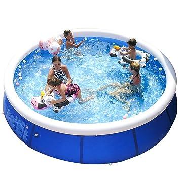 Amazon.com: DLT Kiddie Pools, gran anillo superior inflable ...