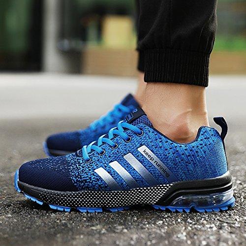 Unisexe Chaussures Occasionnels bleu Hommes Femmes Course Été B Mode Lumière Xianv De Printemps Respirant 0fRxp