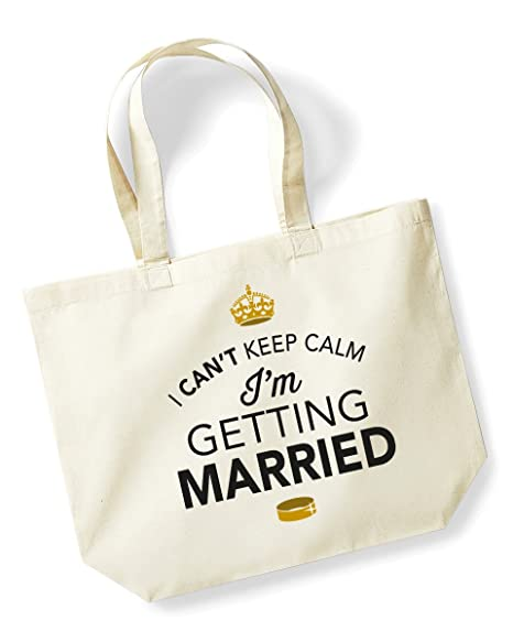 Bride To Be Tote Bag Quality Natural Cotton Shopper Engagement Wedding Gift