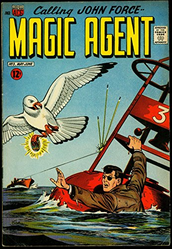 (Magic Agent #3 1962- Last Issue- Obscure ACG Silver Age superhero FN)