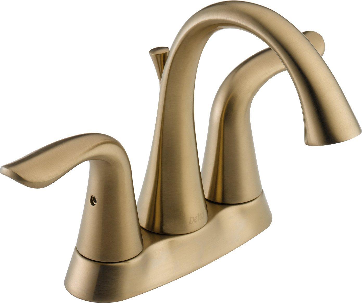 4 minispread bathroom faucets - Delta Faucet 2538lf Czmpu Lahara Two Handle Centerset Bathroom