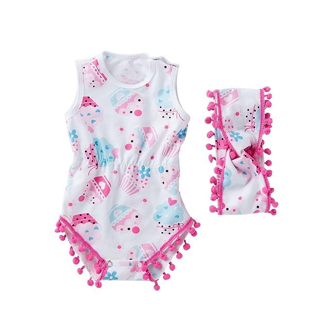 Happy-day Ropa para bebés, Ropa para niños, (3-18M) túnicas de ...