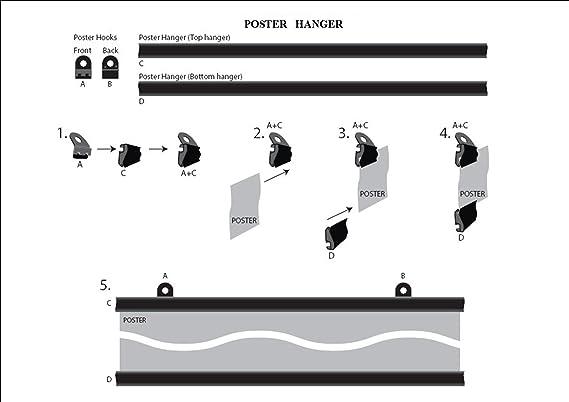 Amazon.com: Large 35x23 inch Black & White Print of a Male Hunk \