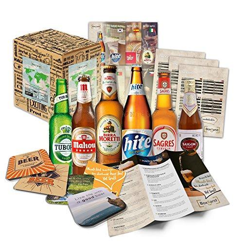 Kleine Bier-Weltreise - Geschenkidee für Bruder, Geschenkidee Bruder zum Geburtstag, schöne Geschenkidee